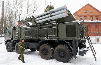 Pantsir-S1 missile systems