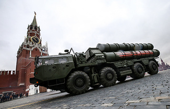 S-400 surface-to-air missile system