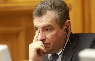 Chairman of the Russian State Duma Committee for Foreign Affairs Leonid Slutsky