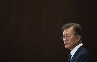 South Korea's President Moon Jae-in