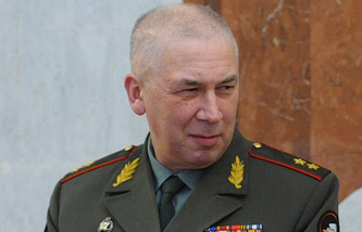 Lt. Gen. Andrey Tretyak, an advisor to the chief of the Russian General Staff