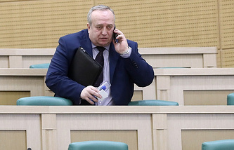 First deputy head of the Federation Council committee on defense and security Frants Klintsevich