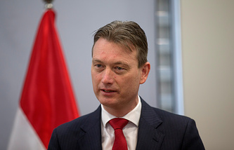 Dutch Foreign Minister Halbe Zijlstra