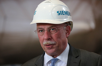 President of Siemens Russia and Central Asia Dietrich Moeller
