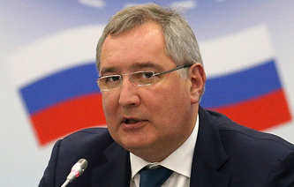 Russia's state space corporation chief Dmitry Rogozin