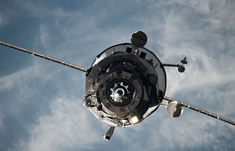 A Progress spacecraft