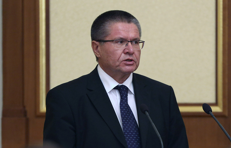 Russian Minister of Economic Development Alexei Ulyukayev