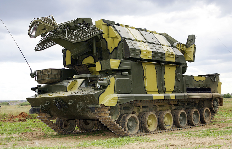 Tor-M1 missile systems launcher vehicle
