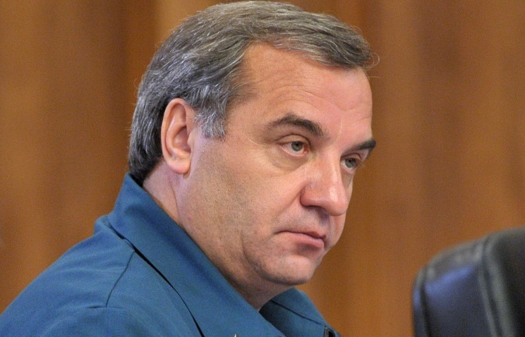 Russian Minister of Emergency Situations Vladimir Puchkov