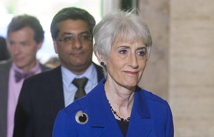 U.S. Under Secretary for Political Affairs Wendy Sherman