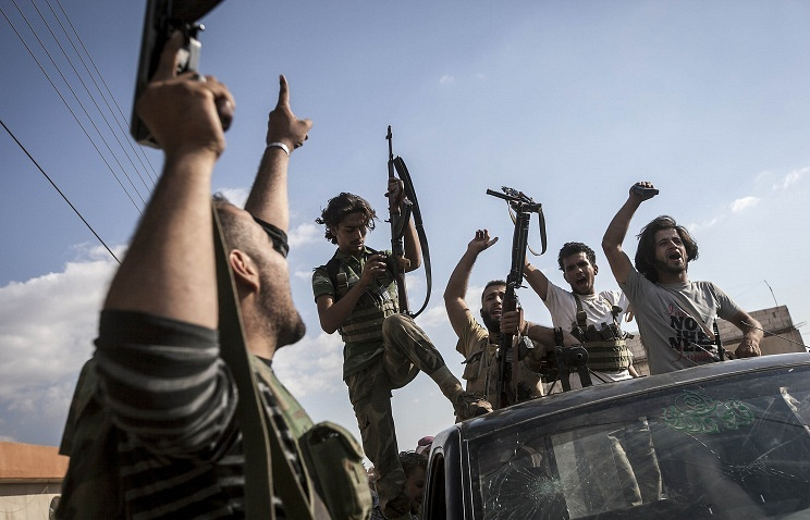 Syrian opposition fighters