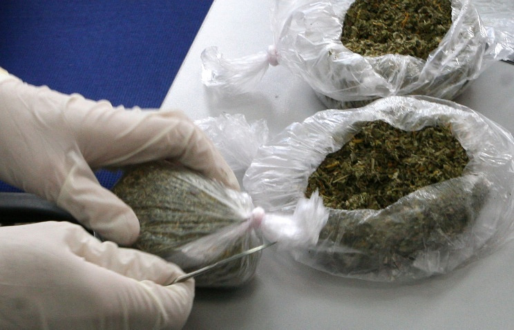 "Synthetic smoking mix known as ""spice"" confiscated by Federal Drug Control Service"