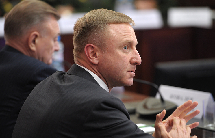Russia's education and science minister Dmitry Livanov