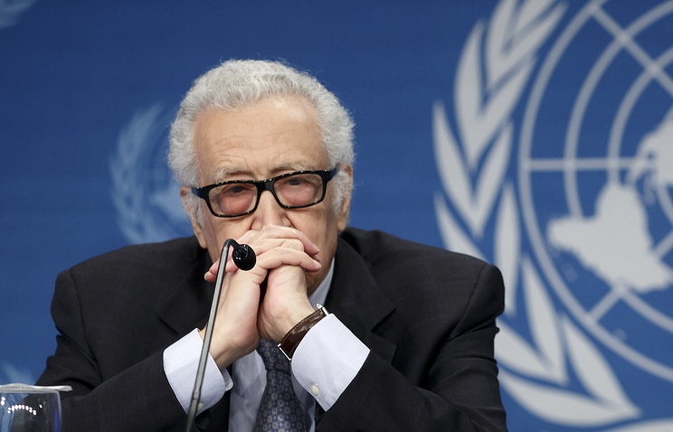 UN Arab League Special Envoy to Syria Lakhdar Brahimi