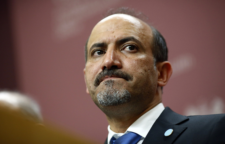 Syrian opposition leader Ahmed al-Jarba