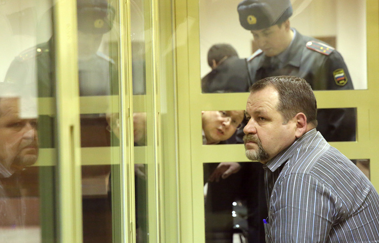Sergei Kabalov during his trial