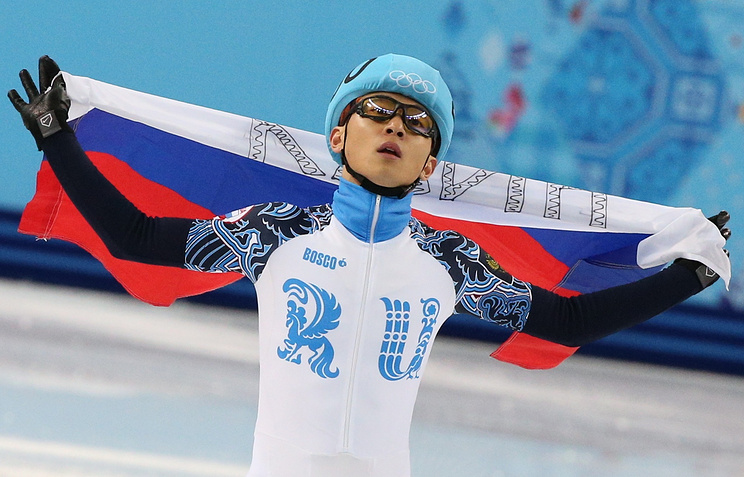 Speed skater Viktor An