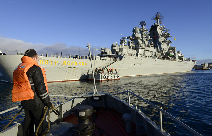 Heavy nuclear-powered missile cruiser Pyotr Veliky (archive)