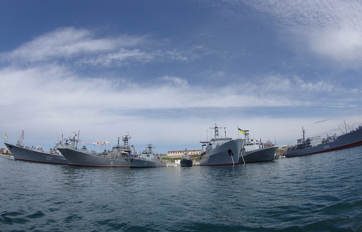 "Ships of the international ""Blackseafor"" naval group in Ukraine's Sevastopol (archive)"