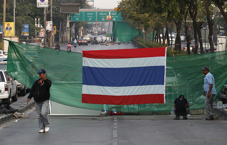 A view of central Bangkok near the Lumpini park (archive)