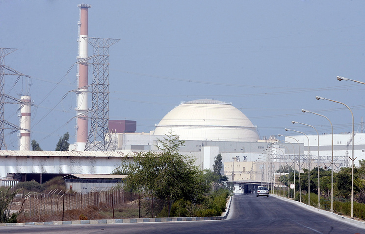Bushehr nuclear power plant in Iran (archive)