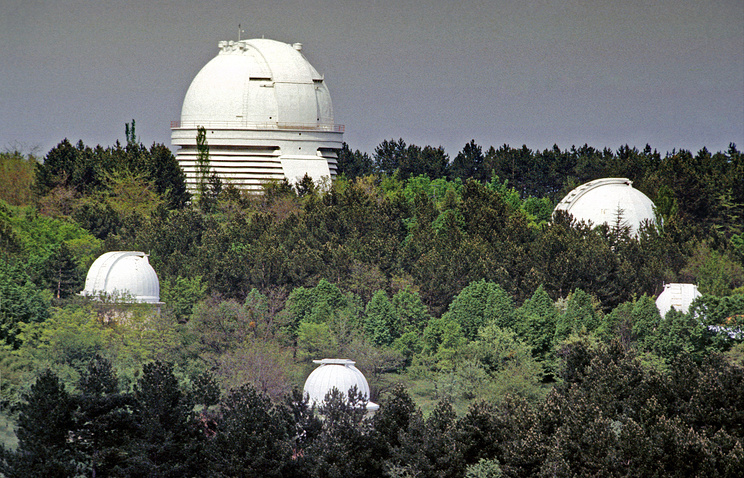 An observatory in Crimea (archive)