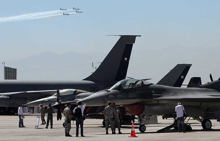 International Air and Space Fair in Chile, March 2012 (archive)