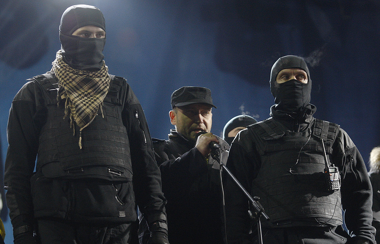 Right Sector leader Dmitry Yarosh
