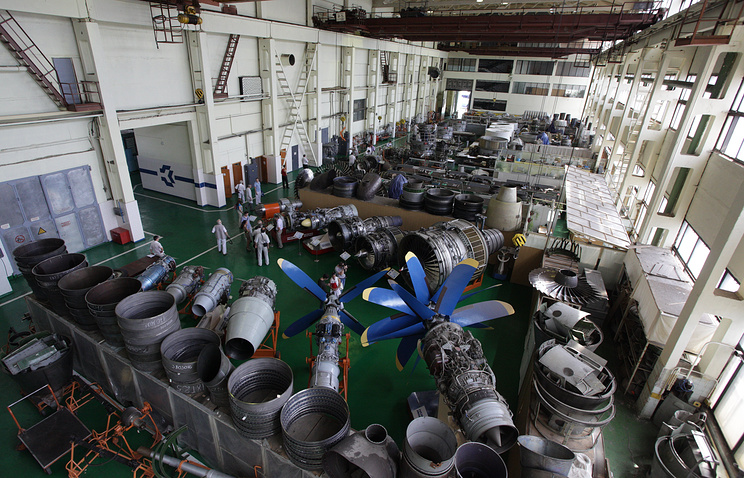 Aircraft engines manufactured at the Motor Sich plant in Ukraine (archive)