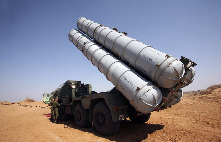 Missile defense system S-300 (archive)