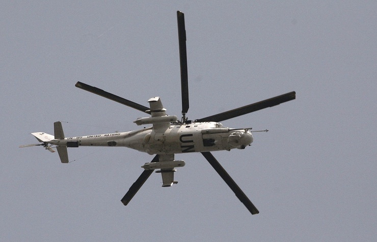 United Nations helicopter (archive)