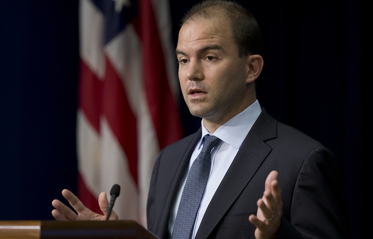 Ben Rhodes, Assistant to the President and Deputy National Security Advisor for Strategic Communications and Speechwriting