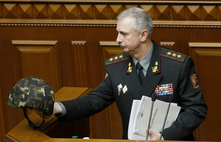 Acting as Minister of Defence of Ukraine Mikhail of Koval