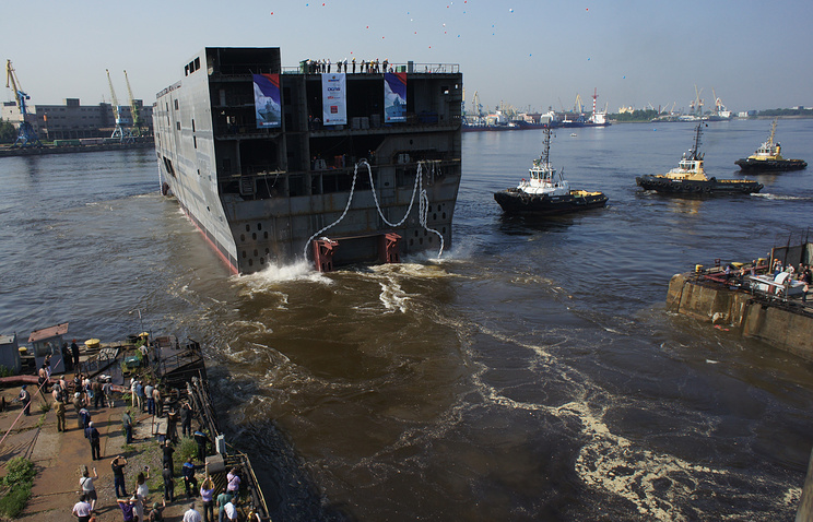 Launch of Mistral stern in July 2013