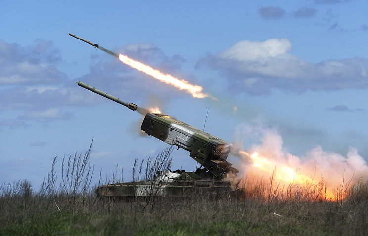 Fiel firing at the Prudboy range in Russia's Volgograd Region (archive)