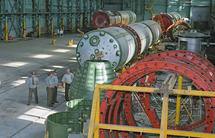 Missile destruction and utilization plant in Russia (archive)