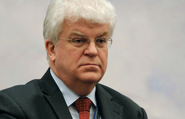 Russia's Ambassador to the European Union Vladimir Chizhov
