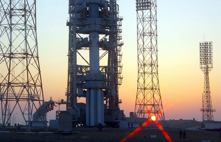 Baikonur space center (archive)