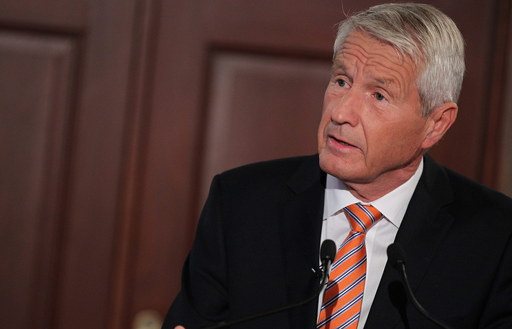 Council of Europe Secretary-General Thorbjorn Jagland