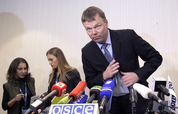 Deputy Chief Monitor of the OSCE Special Monitoring Mission to Ukraine Alexander Hug