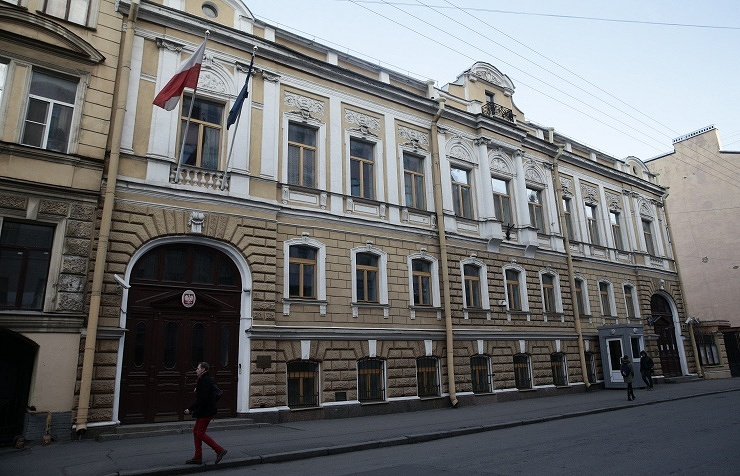 Building of Consulate General of Poland in St Petersburg