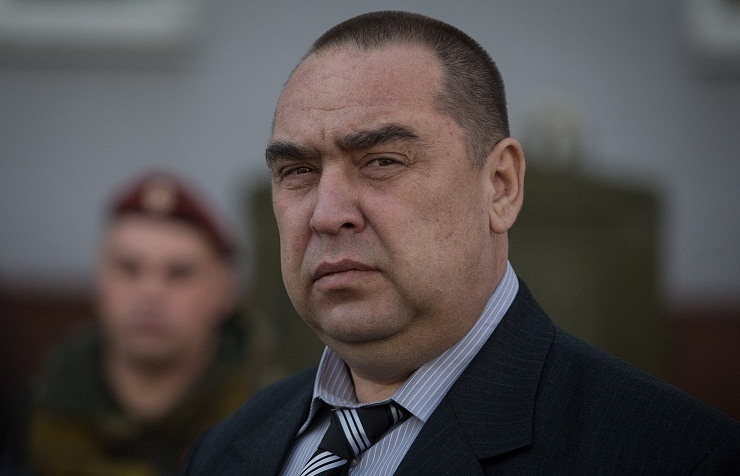 Leader of the self-proclaimed Luhansk People's Republic (LPR), Igor Plotnitsky