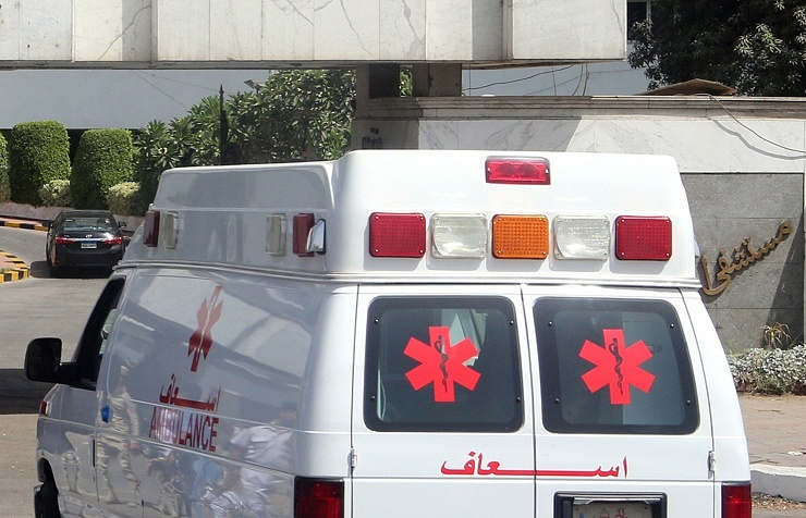 Ambulance in Cairo, Egypt (archive)