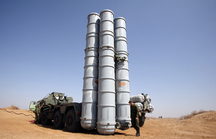 S-300 missile system