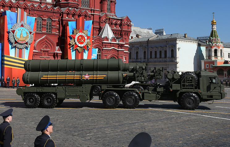 Victory Day Parade on May 9, 2014 in Moscow