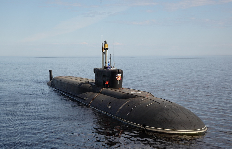 The Vladimir Monomakh submarine