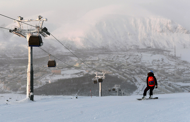 Ski resort in Murmansk region