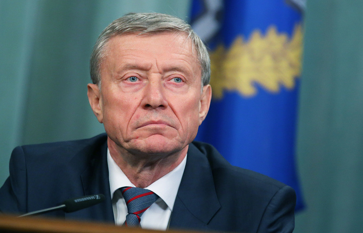 CSTO Secretary-General Nikolay Bordyuzha