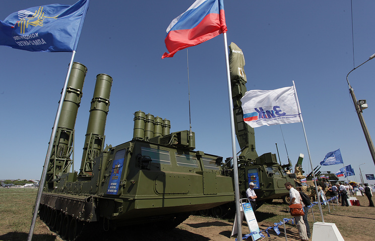Antey-2500 anti-ballistic missiles system
