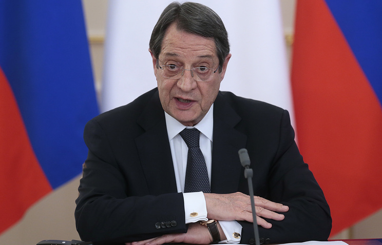 President of the Republic of Cyprus Nicos Anastasiades